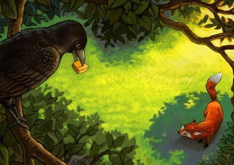 [乌鸦被骗以后的故事]乌鸦被骗以后